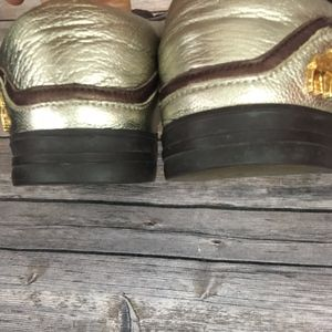 L.A.M.B. Shoes - L.A.M.B. Metallic Sneakers